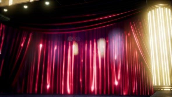 Thumbnail for Velvet Curtain Stage
