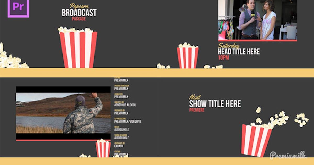Download Popcorn Broadcast Package Essential Graphics | Mogrt by Premiumilk