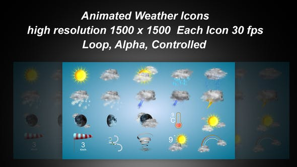Thumbnail for Weather Icons