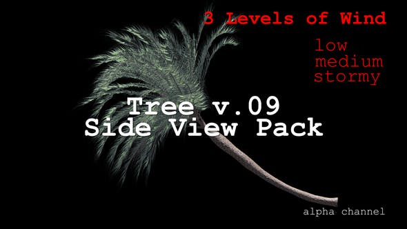 Thumbnail for Tree v. 09 Side View Pack