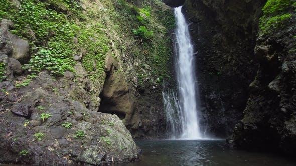 Thumbnail for Beautiful Tropical Waterfall. Bali,Indonesia.