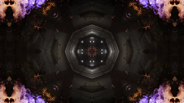 Thumbnail for Futuristic Tunnel Kaleidoscope