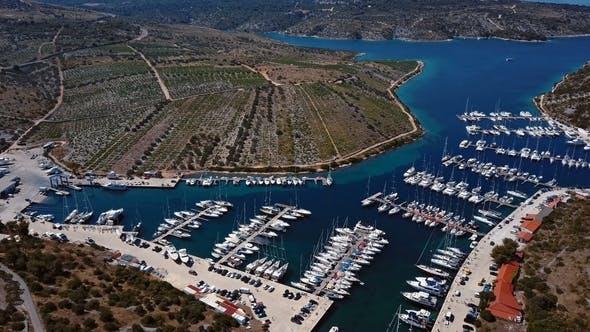 Thumbnail for Aerial of Primosten Vineyards, Croatia