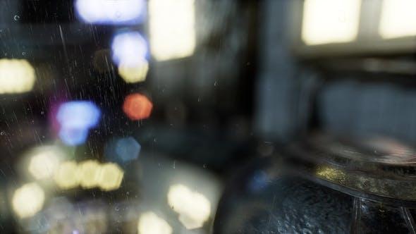 Thumbnail for Urban Scene at Rainy Night