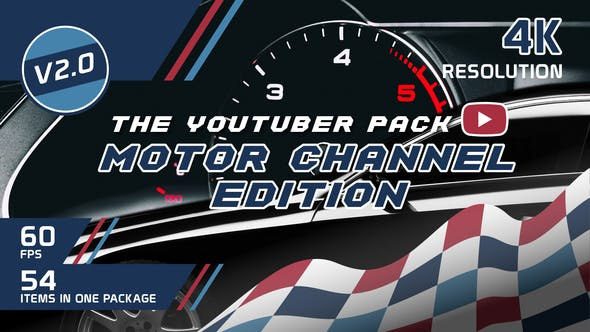 Thumbnail for The YouTuber Pack - Motor Channel Edition V2.0