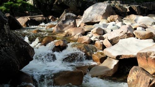 Waterfall Landscape in Glen Etive, Scotland