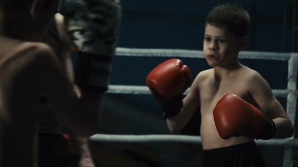 Boys Training Box on Ring