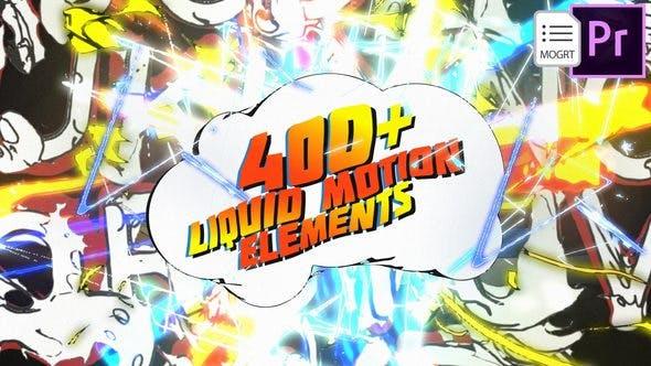 Thumbnail for 3D Liquid Motion FX Packages