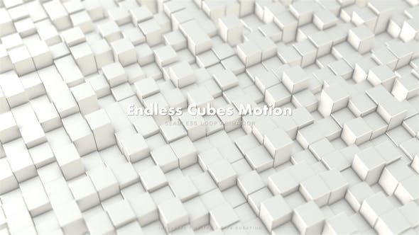 Thumbnail for Endless Cubes Motion 6
