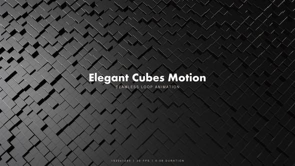 Thumbnail for Elegant Cubes Motion 5