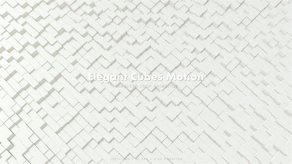Thumbnail for Elegant Cubes Motion 4