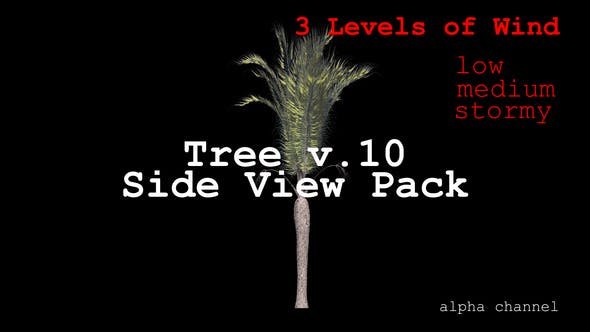 Thumbnail for Tree v. 10 Side View Pack