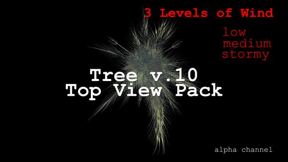 Thumbnail for Tree v. 10 Top View Pack