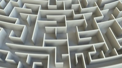SOLUTION Word in the Center of a Big Maze