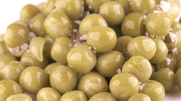 Thumbnail for Pile of Canned Peas on the Plate