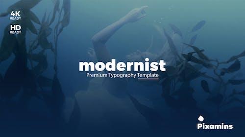 Modernist Premium Typography