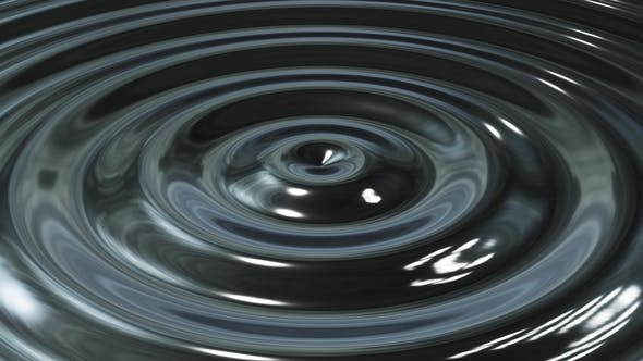 Thumbnail for Abstract Loop Ripple Metal 3d Wave