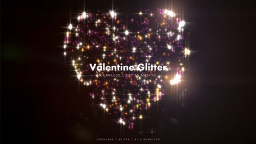 Valentine Glitter 6