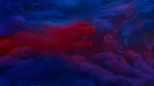 Thumbnail for Smoke Transitions - Blue and Red