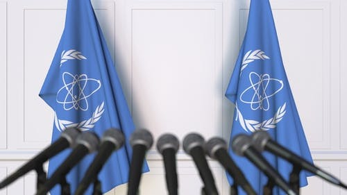 International Atomic Energy Agency IAEA Official Press Conference