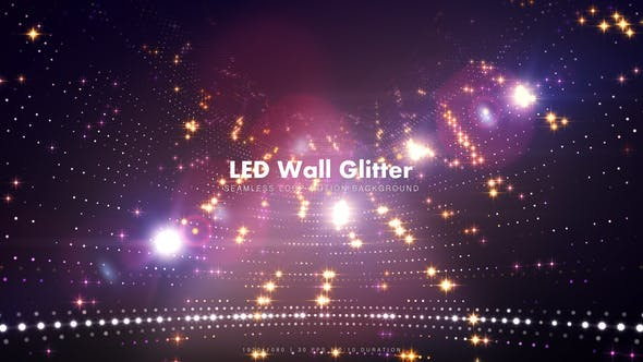 Thumbnail for LED Wall Glitter 6