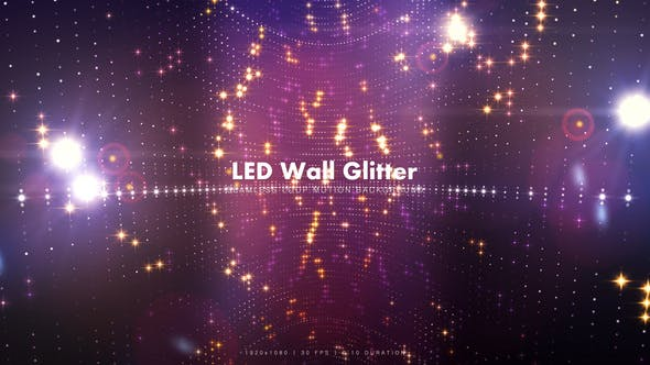 Thumbnail for LED Wall Glitter 5