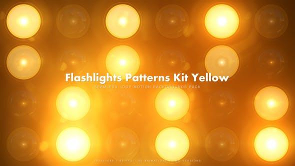 Thumbnail for 35 Taschenlampen Patterns Kit Gelb