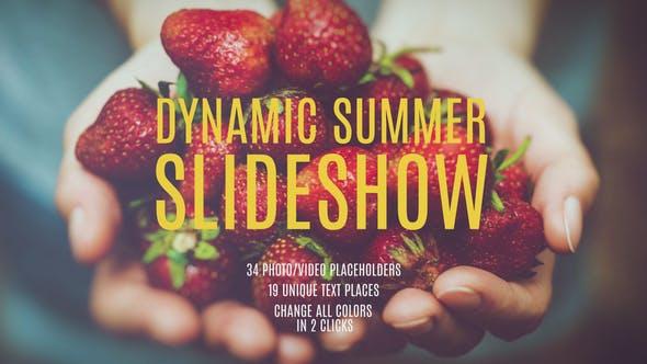 Thumbnail for Presentación dinámica de verano