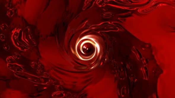 Blutige Vortex-Loop-Hintergrund