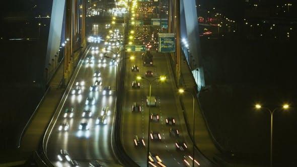 Thumbnail for Cars Moving through a Bridge