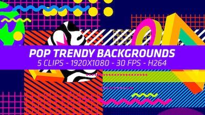 Pop Trendy Backgrounds