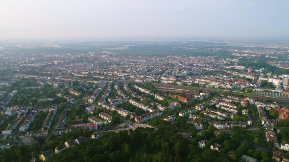 Thumbnail for City Municipality of Bremen Aerial FPV Drone Footage