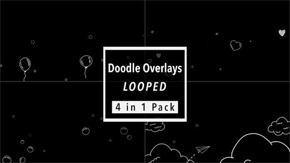 Thumbnail for Doodle Overlays Pack