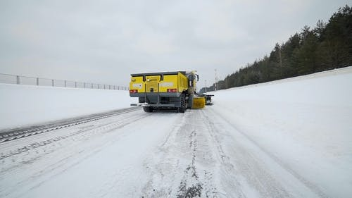 Snow and Ice Removal Truck