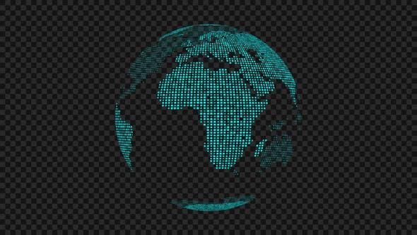 Thumbnail for Spinning Globe 03