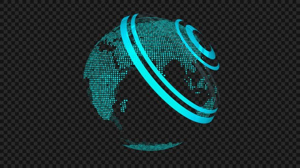 Thumbnail for Spinning Globe 04