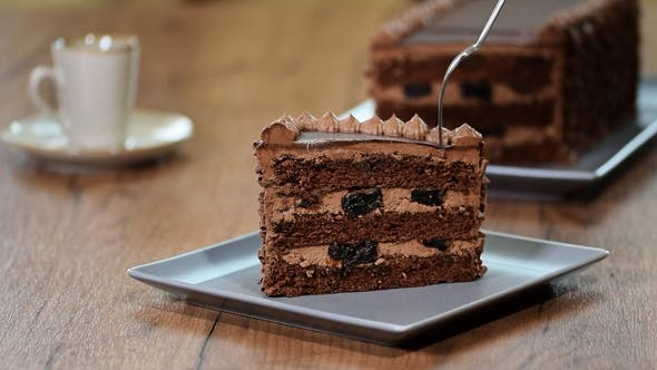 Thumbnail for Eat a Delicious Piece of Chocolate Cake