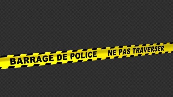 Thumbnail for Police Line - French Text