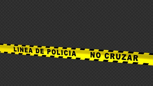 Thumbnail for Police Line - Spanish Text - 4K