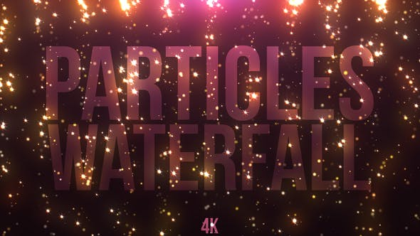 Thumbnail for Particles Waterfall
