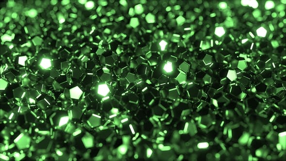 Cover Image for Pile of Shiny Green Crystals