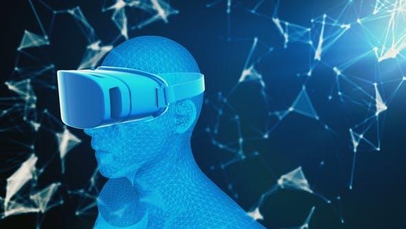 Thumbnail for Points of Virtual Reality behind Digital Human Hologram