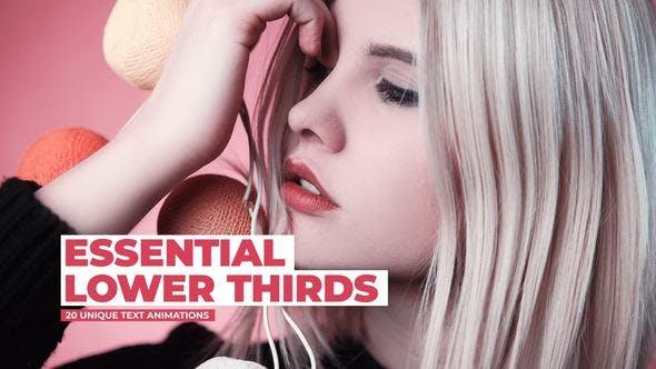 Thumbnail for Essential Lower Thirds