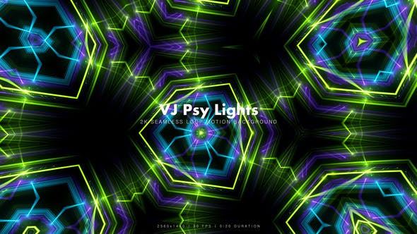 Thumbnail for VJ Psy Lights 20