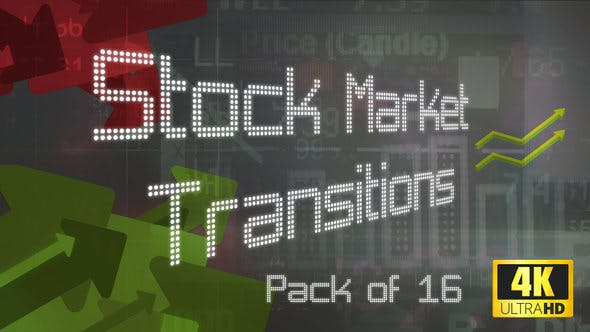Thumbnail for 16 4K Stock Market Transitions