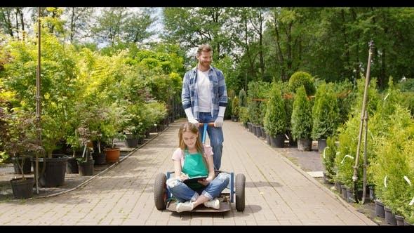 Playful Colleagues of Botanic Garden