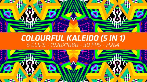 Thumbnail for Colourful Kaleido (5 in 1)