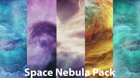 Thumbnail for Beautiful Space Nebula Pack
