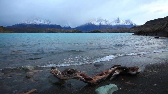 Thumbnail for Lake Pehoe at Dawn Torres Del Paine, Chile