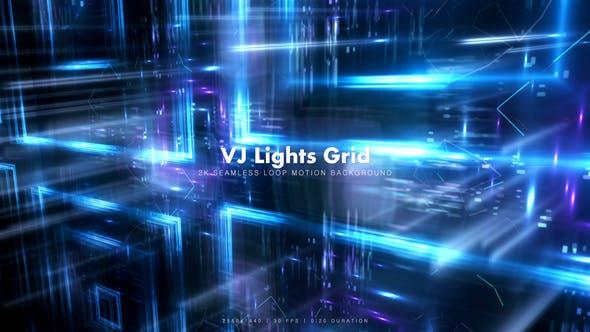 Thumbnail for VJ Lights Grid 6